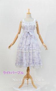 ロリータ Sweet Dreamer Vintage 夏 ジャンパースカート ジャンスカのみ ノースリーブワンピース 花柄  loli1287