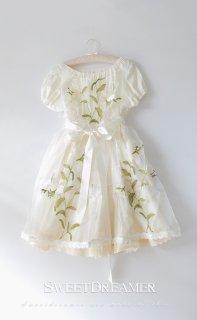 ロリータ Sweet Dreamer Vintage Lily's Dream シースルーエプロン ワンピ別売り春夏 透け感 重ね着 loli1289