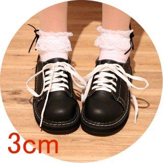 ロリータ シューズ おでこ靴 3cmヒール モノトーン かわいい ロリータシューズ カジュアル 普段使い 甘ロリ loli1313