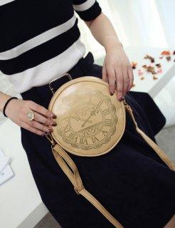 ロリータ 時計柄 ポシェット ショルダーバッグ 甘ロリ かわいい かばん 斜めがけバッグ クラシカル クラロリ  loli1502