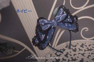 ロリータ HinanaQueena 妖精の秘密の花園 カチューシャ ヘッドドレス 姫ロリ 甘ロリ リボン レース フリル loli1573