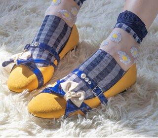 ロリータ アーモンドトゥ シューズ つま先タイト設計 ロリータシューズ 靴 甘ロリ ゴスロリ クラロリ 合わせやすい loli1662