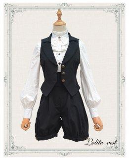 ロリータ 王子系ゴシックショートパンツ パンツのみ 皇子 男装 黒執事 ゴスロリ 少年 ボーイッシュ