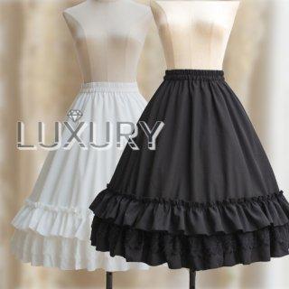 ロリータ ワイヤー付きロング用ペイコート インナー ワイヤー ロングスカート用 ドレス