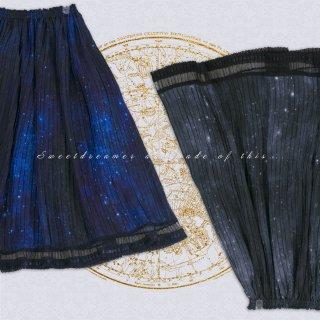 ロリータ Sweet Dreamer Vintage 宇宙の星空スカート 星 スカート ロング クラロリ カジュアル クラシカルロリータ ゴスロリ loli1923