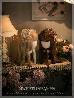 ロリータ Sweet Dreamer Vintage ヘアアクセサリー ヘッドドレス リボン ロリィタ ブランド ロリータファッション hi0836