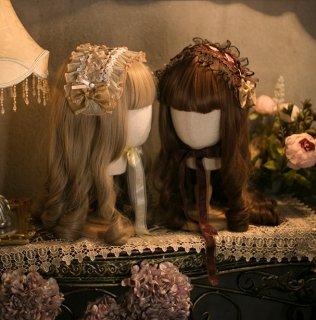 ロリータ Sweet Dreamer Vintage ヘッドドレス クラシカル コサージュ クラロリ ゴスロリ アクセサリー loli2003