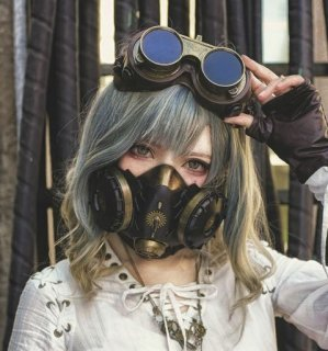 スチームパンク ゴーグル steampunk 小物 アクセサリ レトロ 通年 茶話会  ゴスロリ ロリータファッション loli2127