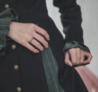 スチームパンク 指輪2色 リング ゴールド シルバー ビジュー アクセサリ  ロリータファッション【ポスト投函対応】 loli2170