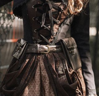スチームパンク ベルト steampunk 通年 ポケット付き キーリング付き コスプレ カジュアル ロリータファッション loli2174