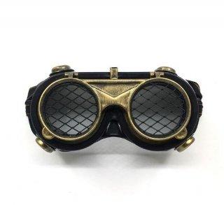 スチームパンク ゴーグル ユニセックス ブラック 雑貨 通年 小物 ゴスロリ ロリータファッション loli2194