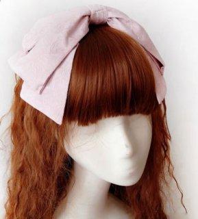 ロリータ クラシカル リボンカチューシャ3色 ゴシック ピンク ネイビー パープル かわいい 上品 ドレス ヘアアクセサリ ヘッドドレス フェミニン おしゃれ 通年 ゴスロリ  loli2447