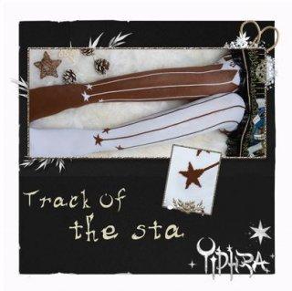 ロリータ スター タイツ 2色 カジュアル 通年 ストッキング ストライプ 総柄 プリント ピエロ かわいい 星 ブラウン ブラック カラフル キュート Lolita ゴスロリ ロリータファッショ