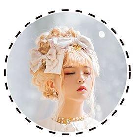 ロリータ リボン カチューシャ 通年 甘ロリ ホワイト かわいい プリント ヘッドドレス ファッション雑貨 小物 人気 トレンド おでかけ お呼ばれ フェミニン Lolita ゴスロリ