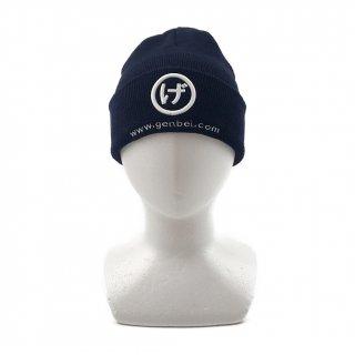 ニット帽(紺)