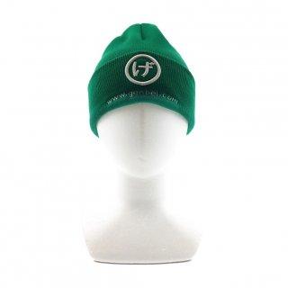 ニット帽(緑)