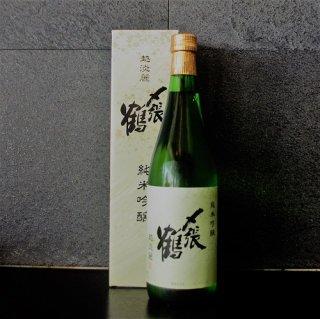 〆張鶴(しめはりつる)  純米吟醸 越淡麗720ml