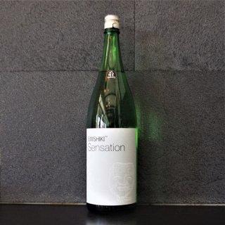 笑四季(えみしき) Sensation 白ラベル生原酒1800ml