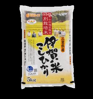 小杉地区限定 生産者限定 伊賀米こしひかり 10kg(5kg×2袋)