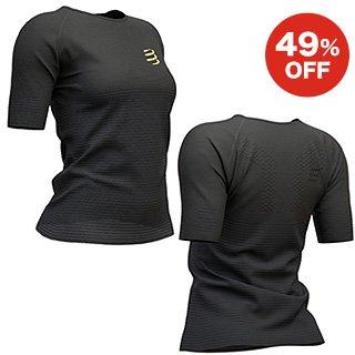 トレーニング Tシャツ ショートスリーブ ウーマン ブラックエディション 2019
