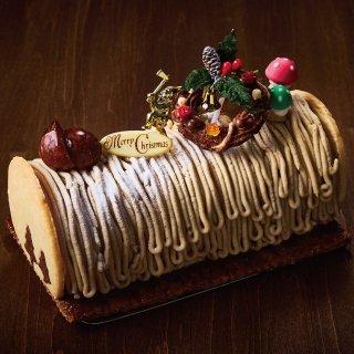 【クリスマスケーキ】和栗と抹茶のモンブラン(限定100個)