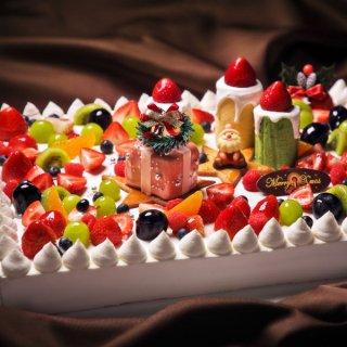 【クリスマスケーキ】シャンパンオレンジのブッシュ・ド・ノエル(限定50個)