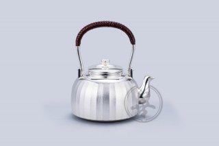 善兴  纯银  汤沸4.5寸  立筋  本色