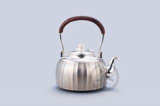 善兴  纯银  汤沸4.5寸  立筋  黑