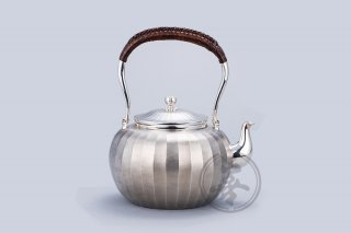 善兴  纯银  汤沸6寸  立筋