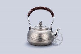 善兴  纯银  汤沸4.5寸  波纹