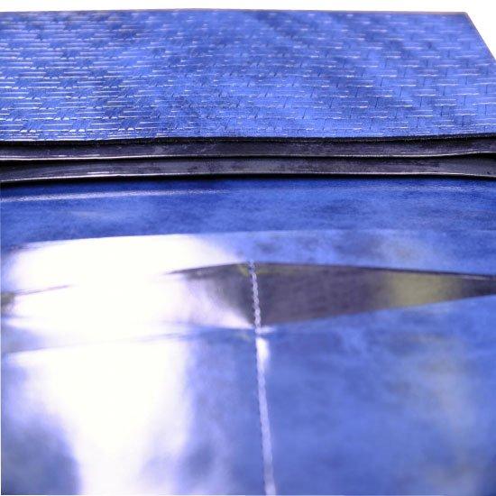 アジロ編みグレイン風琴束入れ【画像27】