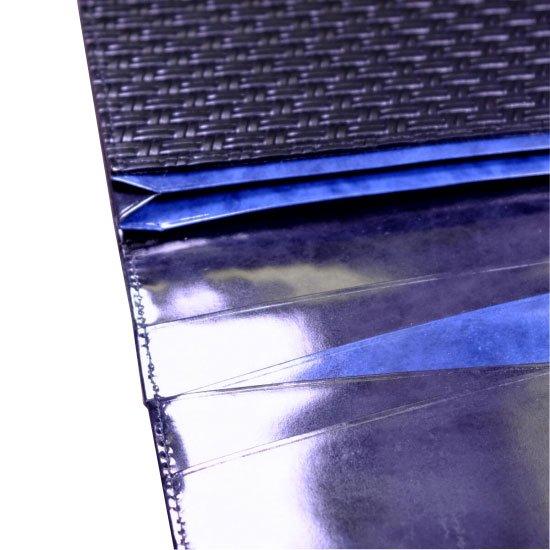 アジロ編みグレイン風琴束入れ【画像8】