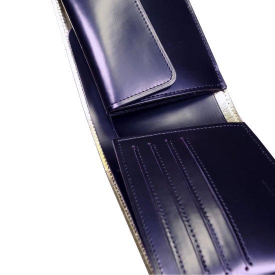 KAWAORIGAMI ブラック&ゴールドモデル チェンジウォレット【画像5】