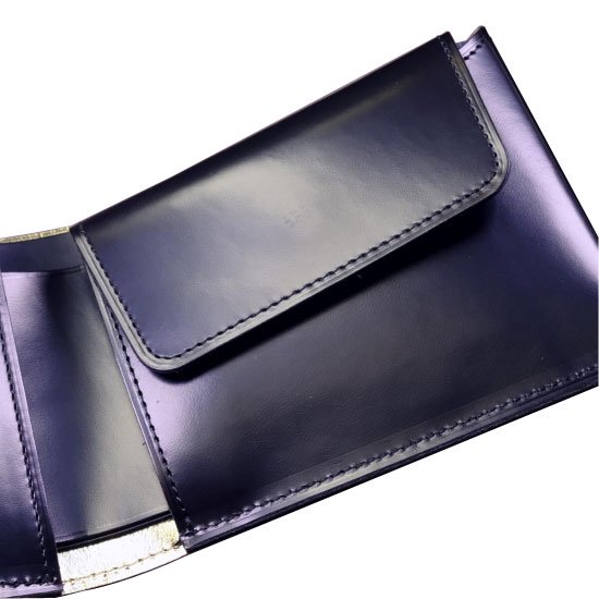KAWAORIGAMI ブラック&ゴールドモデル チェンジウォレット【画像7】