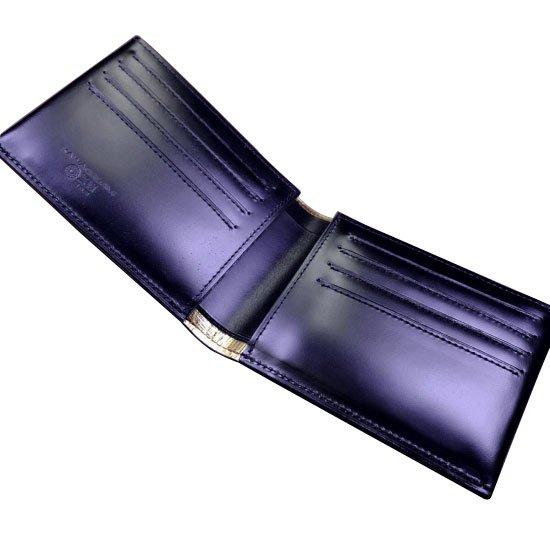 KAWAORIGAMI ブラック&ゴールドモデル カードウォレット【画像2】