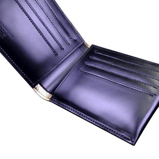 KAWAORIGAMI ブラック&ゴールドモデル カードウォレット【画像3】