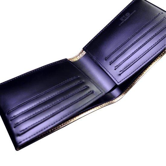 KAWAORIGAMI ブラック&ゴールドモデル カードウォレット【画像4】