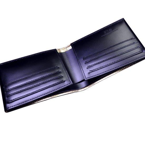 KAWAORIGAMI ブラック&ゴールドモデル カードウォレット【画像6】