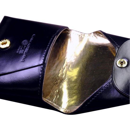 KAWAORIGAMI ブラック&ゴールドモデル コインケース【画像4】