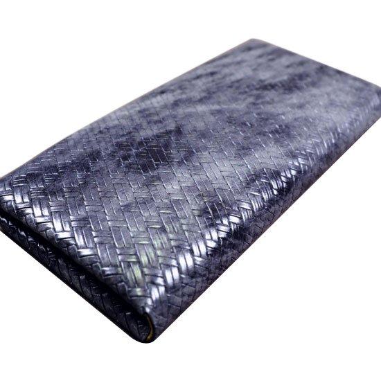 アジロ編みグレイン西陣織モデル束入れ エブタイド