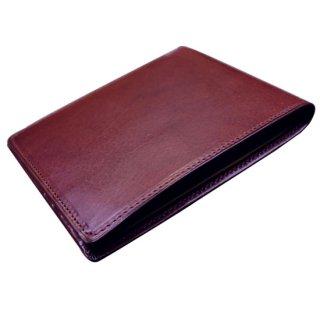 二つ折り財布 カルロバダラッシ リスシオスリムカードウォレット