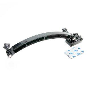 【送料無料】GoPro アクセサリー ヘルメットアーム付カーブベースマウント  GLD4844gp79