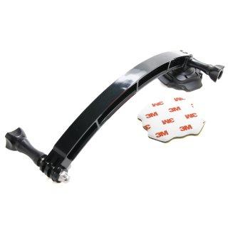 【送料無料】GoPro アクセサリー ヘルメットアーム付回転ベースマウント  GLD4912gp113