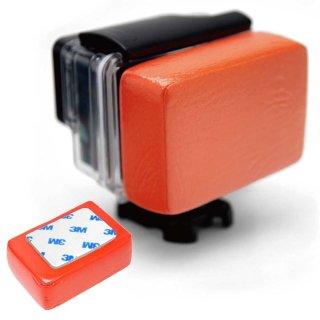 GoPro(ゴープロ)用アクセサリー フロートバック 赤 防水ハウジング用 浮き   GLD4974GP46