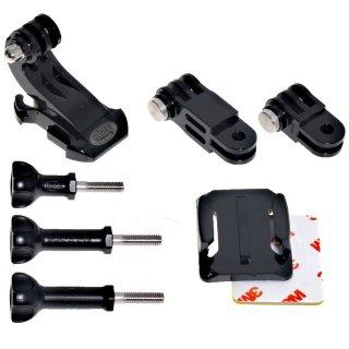 GoPro(ゴープロ)用アクセサリー マウント パーツセット ジョイント パーツ 延長アダプター 日本製  GLD5155GP64