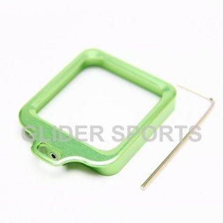 【送料無料】GoPro HERO4 アクセサリー アルミレンズリング 緑  GLD5728gp97-gr