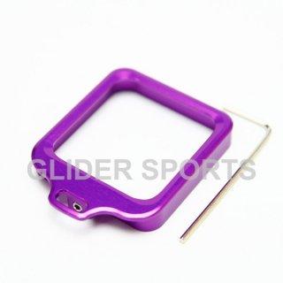 【送料無料】GoPro HERO4 アクセサリー アルミレンズリング 紫  GLD5735gp97-pl