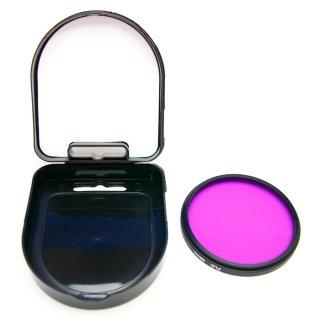 GoPro(ゴープロ)用 (HERO7Black/HERO6/HERO5対応) ダイビングフィルター 58mm 紫  GLD5766GO63PL