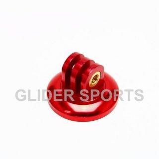【送料無料】GoPro アクセサリー アルミ三脚 アダプター 赤  GLD5797go76-rd