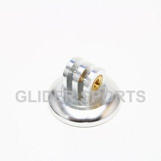 【送料無料】GoPro アクセサリー アルミ三脚 アダプター 銀  GLD5803go76-sl